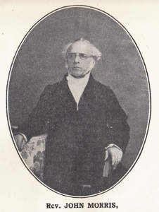 Rev. John Morris - Co-Pastor with Rev. Tho,as Hillyard 1816 - 1828, Pastor 1828 - 1840